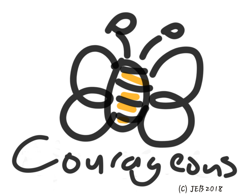 """""""3-days – 3 quotes – tag-3"""" Day 1:Courage…"""